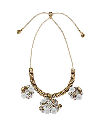 I DREAM OF BETSEY CLUSTER NECKLACE