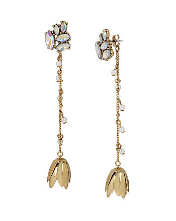 I DREAM OF BETSEY FLOWER LONG EARRINGS