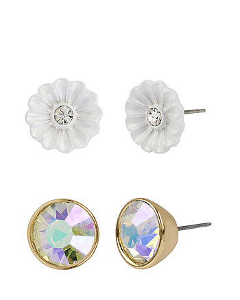 I DREAM OF BETSEY FLOWER STUD SET