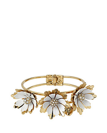 I DREAM OF BETSEY HINGE BANGLE