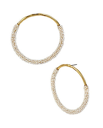 I DREAM OF BETSEY HOOP EARRINGS
