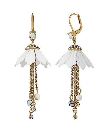 I DREAM OF BETSEY LAYERED FLOWER EARRINGS