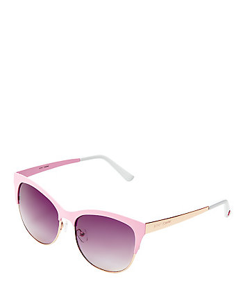 IN THE PINK ENAMELED SUNGLASSES