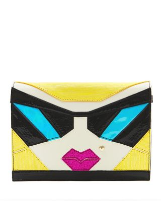 KITSCH BETSEY FACE CROSSBODY MULTI