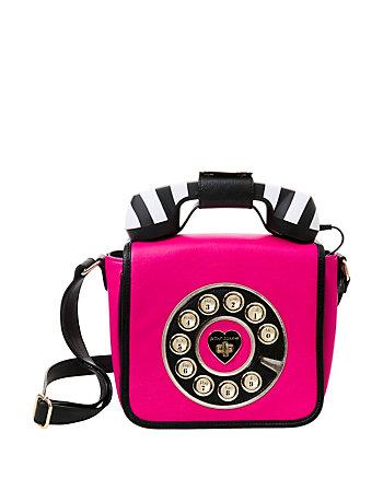 KITSCH BETSEYS HOTLINE PHONE CROSSBODY