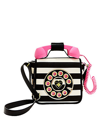 KITSCH CALL ME BABY TELEPHONE BAG