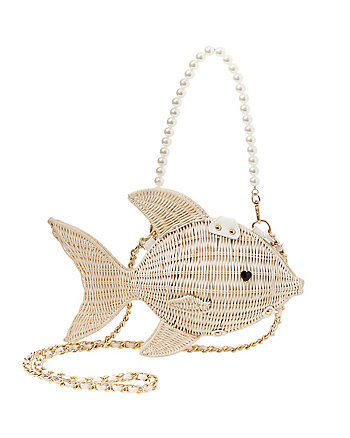 KITSCH GONE FISHIN CROSSBODY