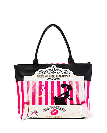 KITSCH KISSING BOOTH TOTE