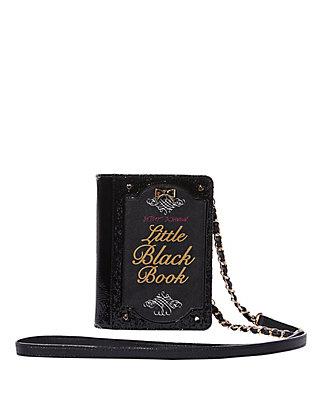 KITSCH LITTLE BLACK BOOK CROSSBODY