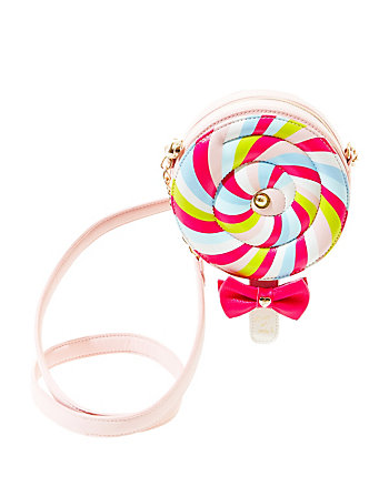 KITSCH SPINNING LOLLIPOP CROSSBODY