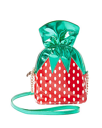 KITSCH STRAWBERRY CANDY CROSSBODY