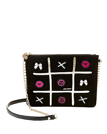 KITSCH TIC TAC BOW CROSSBODY