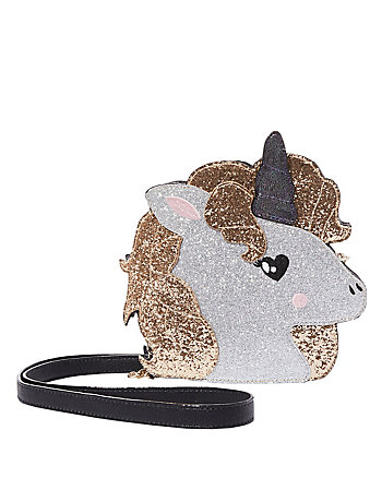 KITSCH TOOT YOUR OWN HORN UNICORN CROSSBODY