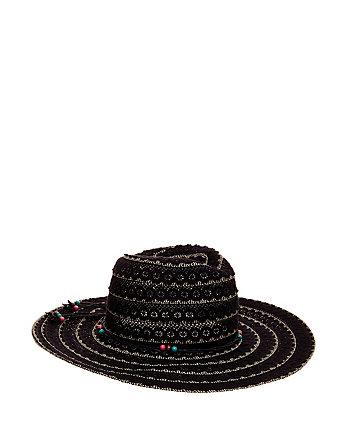 LACEWORK PANAMA HAT