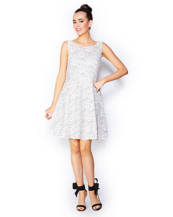 LACEY SWIRLS PARTY DRESS