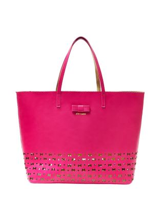 LASER TAG BAG IN BAG TOTE FUCHSIA