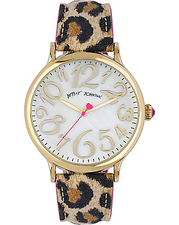 LEAPIN LEOPARD WONKY NUMBER WATCH