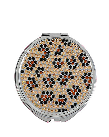 LEOPARD BLING COMPACT