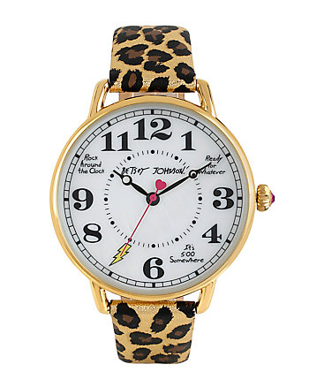 LEOPARD KITCH DIAL WATCH