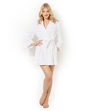 LOOP TERRY ROBE