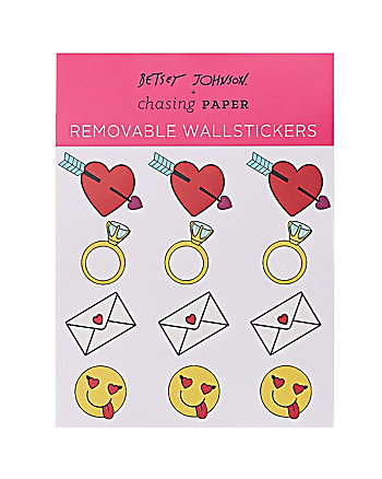 LOVE EMOJI MIX REMOVABLE WALLSTICKERS
