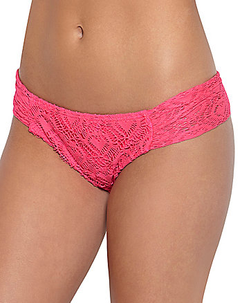 LOVE LACE CROCHET CHEEKY HIPSTER BOTTOM