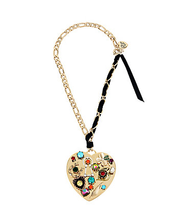 LUCKY CHARMS GOLD HEART PENDANT