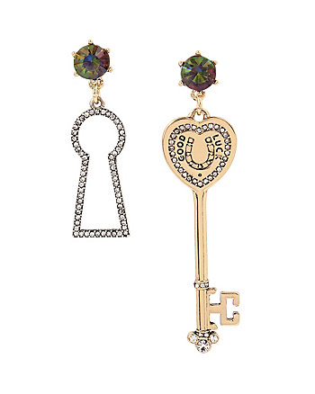 LUCKY CHARMS KEY MISMATCH EARRINGS