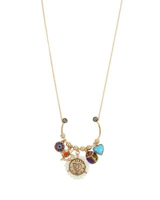LUCKY CHARMS U PENDANT MULTI