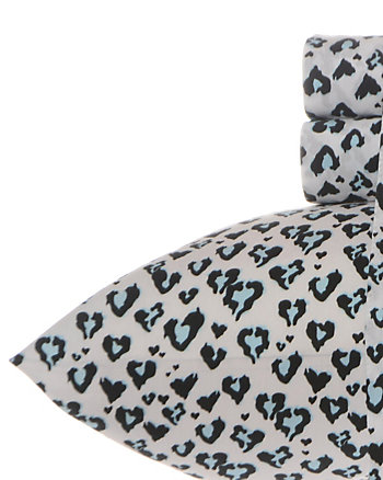 LUV BETSEY WILD AT HEART QUEEN SHEET SET
