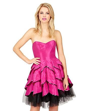 Magenta Dynamite Dress
