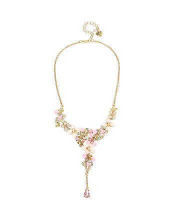 MARIE ANTOINETTE FLOWER Y NECKLACE