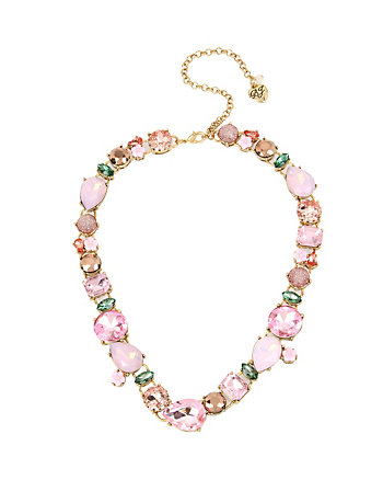 MARIE ANTOINETTE MULTI STONE COLLAR NECKLACE
