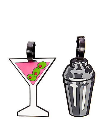 MARTINI LUGGAGE TAG SET