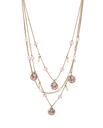 MEMOIRS OF BETSEY ILLUSION NECKLACE