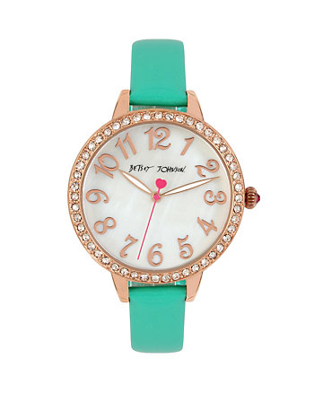 METALLIC GREEN MINI WATCH