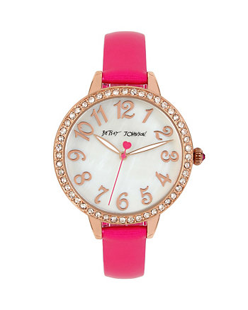 METALLIC PINK MINI WATCH
