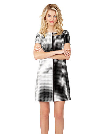 MODERN MOD SHORT SLEEVE DRESS