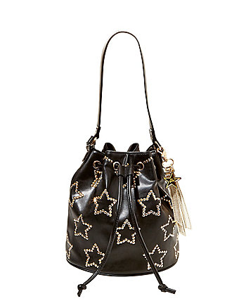 NIGHT LIGHTS BUCKET BAG