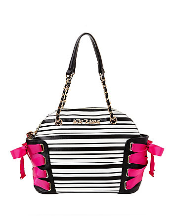 OF CORSET DOME SATCHEL