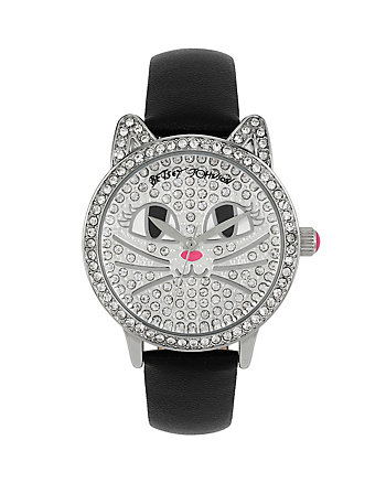 OH SO BETSEY KITTY CAT WATCH