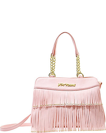 ON THE FRINGE SATCHEL
