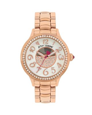 OVER THE MOON WATCH ROSE GOLD