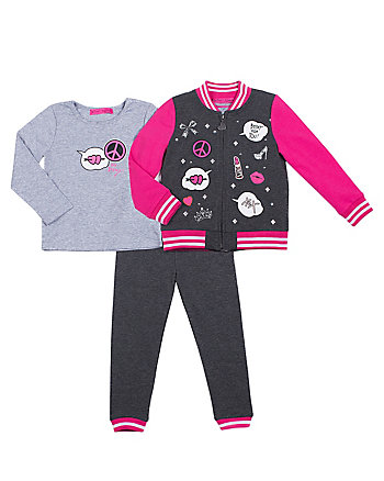 PATCHINESS TODDLER THREE PC JACKET SET
