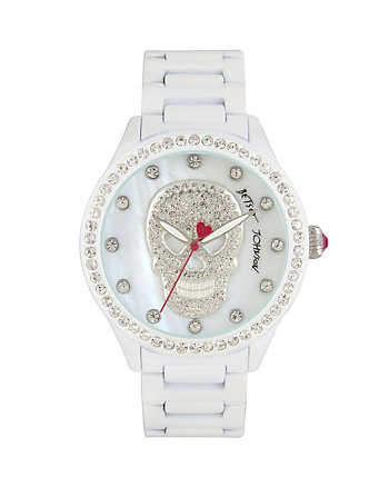 PEARLIZED SKULL WATCH