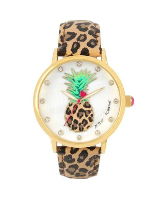 PEPPY PINEAPPLE WATCH LEOPARD