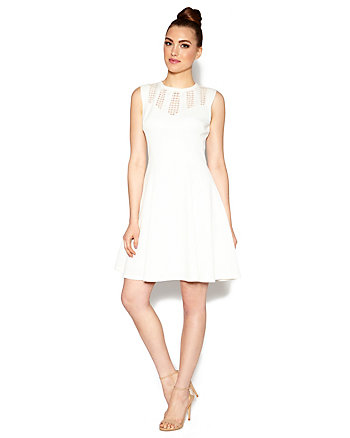 PERFECT WHITE PARTY DRESS