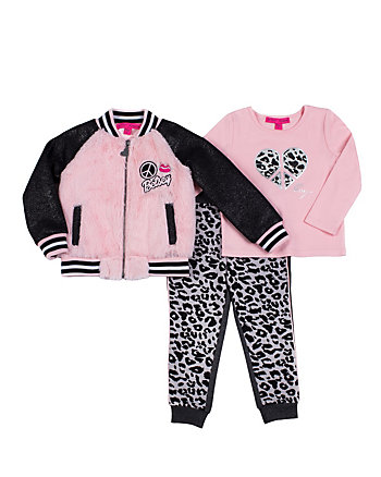 PINK LADY 4-6X THREE PC JACKET SET