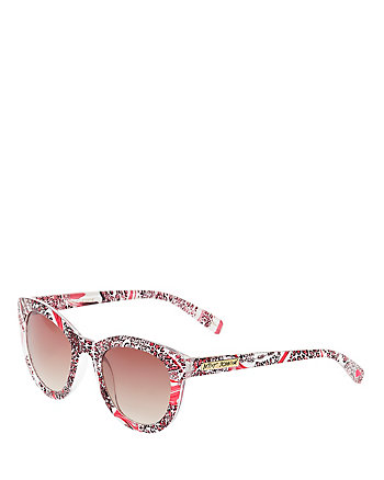 PINK LEOPARD PARTY GLASSES