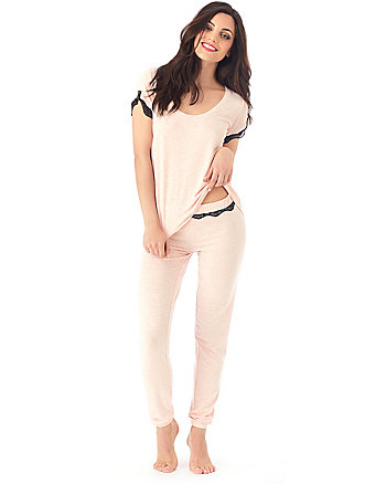 PLAYFUL KNITS RAYON KNIT PJ SET